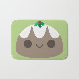 Cute Christmas Pudding Bath Mat