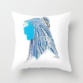 Shiva e Destroyer Throw Pillow