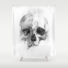 Skull 46 Shower Curtain