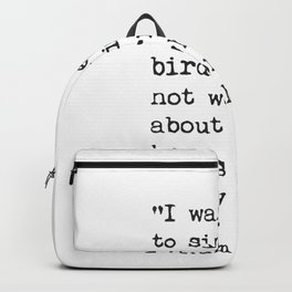 Rumi quote 4 Backpack