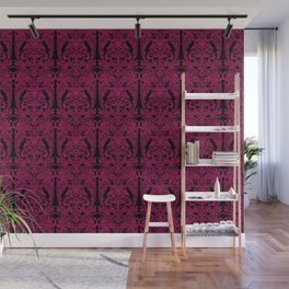 The Grand Salon, Magenta Mourning Wall Mural