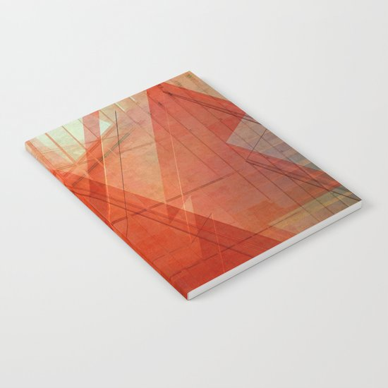 Orange abstract  Notebook