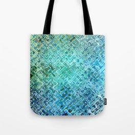 Pattern bluegreen Tote Bag