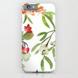 red berries N.o 1 iPhone Case