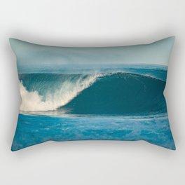 Classic Wave Rectangular Pillow