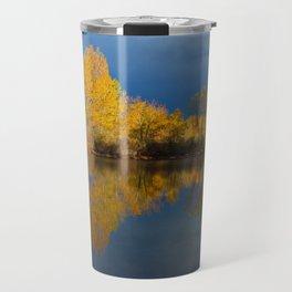 Golden light Travel Mug