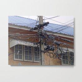 asian wiring 1 Metal Print