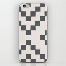 Tiles - in Charcoal iPhone & iPod Skin