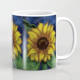 Dramatic Sunflower DP141118a Coffee Mug
