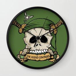 Skull Link Wall Clock