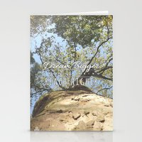 climbing Stationery Cards featuring KEEP CLIMBING by Aonair Designs