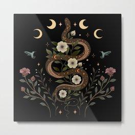 Serpent Spell Metal Print