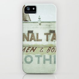 Tailors iPhone Case