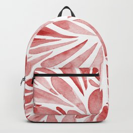 Symmetric drops - red Backpack