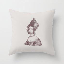 Haute Coiffure  /#6 Throw Pillow