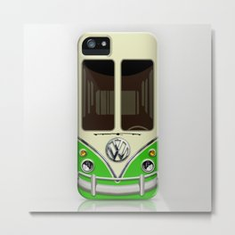 Special Gift for Summer Holiday green minivan minibus iPhone 4 4s 5 5c 6, pillow case and mugs Metal Print