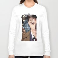 doctor who Long Sleeve T-shirts featuring Doctor Who by SB Art Productions
