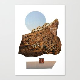 rock ten Canvas Print