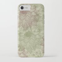 peonies iPhone & iPod Cases featuring Peonies by Zen and Chic