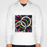 circles Hoodies featuring circles by haroulita
