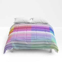 color bar Comforters