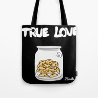 cookies Tote Bags featuring Cookies by Firielle