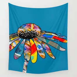 The unusually Conflower Wall Tapestry