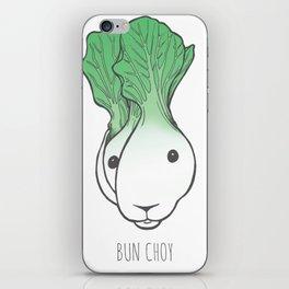 Bun Choy iPhone Skin