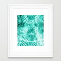 tie dye Framed Art Prints featuring Tie Dye  by Jenna Davis Designs