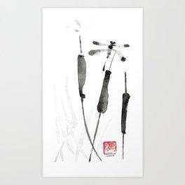 DragonFly III Art Print