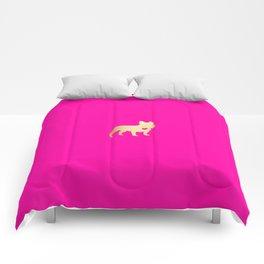 French Bulldog Gold Comforters