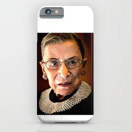 Ruth Bader Ginsburg 1933 -2020 RIP iPhone Case