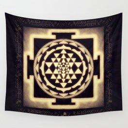 Sri Yantra XVII - Diffuse Light Wall Tapestry