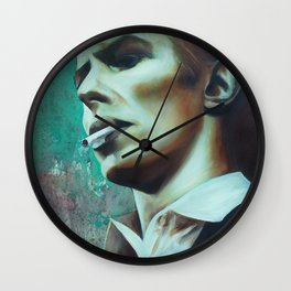The Thin White Duke Wall Clock