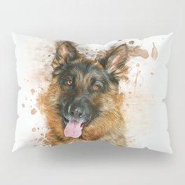 German Shepherd Pillow Sham