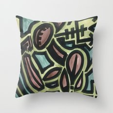 Traveling Hellion Throw Pillow