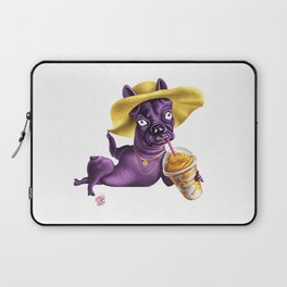 Fancy Frenchie Laptop Sleeve