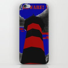BEWARE OF THE LIGHTHOUSE! iPhone & iPod Skin