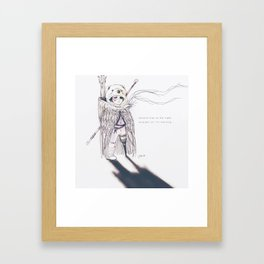 Lostboy Framed Art Print