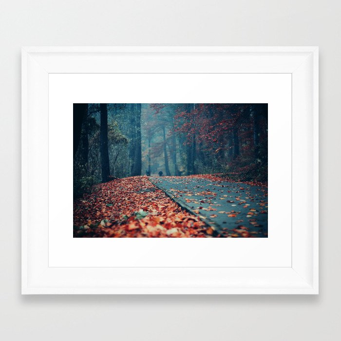 Vanish Into Small Framed Art Print by ewitsoe | Society6