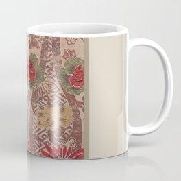 Verneuil - Japanese paper and fabric designs (1913) - 16: Chrysanthemums & Peonies Coffee Mug