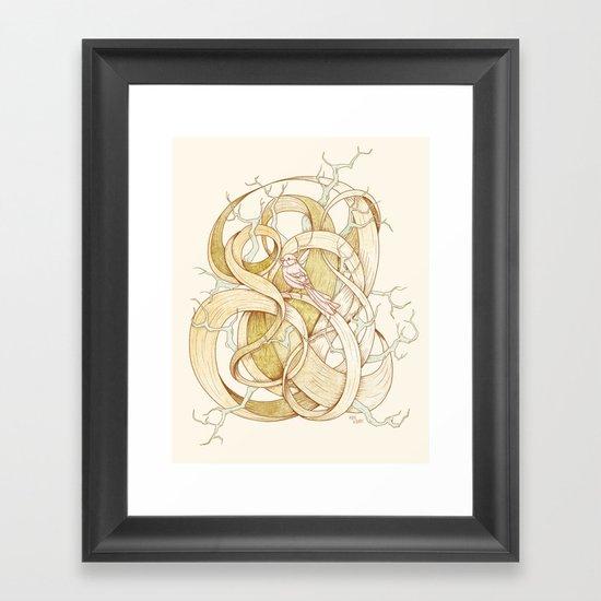 Escape | VACANCY zine | Framed Art Print