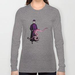 TROUSER TENTACLES OF DOOM! (slight variation) LINEART ILLUSTRATION Long Sleeve T-shirt