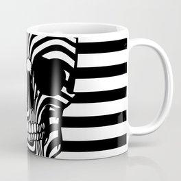 Skull Lines Coffee Mug