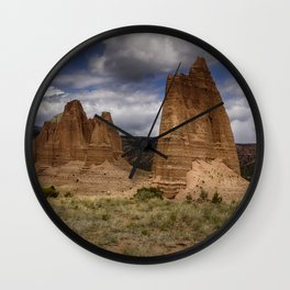 Cathedral  Valley Wall Clock