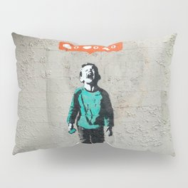 Banksy, social life, likes Pillow Sham