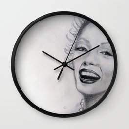 Born a Star Wall Clock