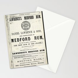 Lawerence's Medford Rum Stationery Cards