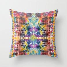 Batik 1 Throw Pillow