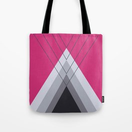 Iglu Pink Yarrow Tote Bag